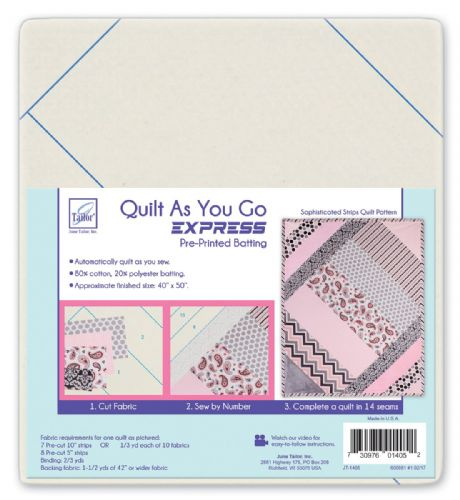 Quilt As You Go Express - Sophisticated Strips